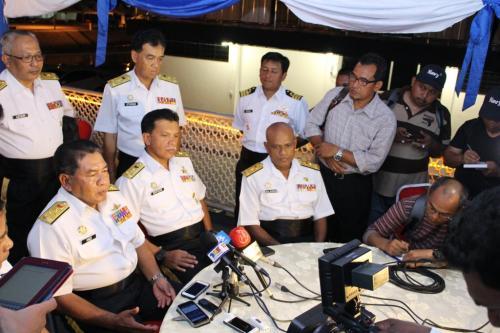 dalam press conference dato FOC