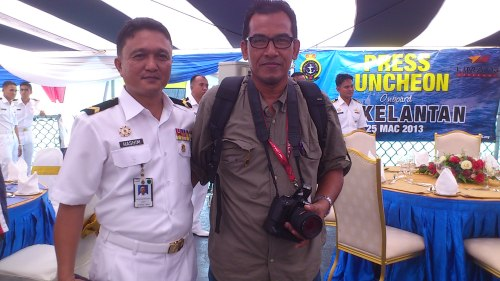 Pw1 Hashim Jantan-warant officer of Navy
