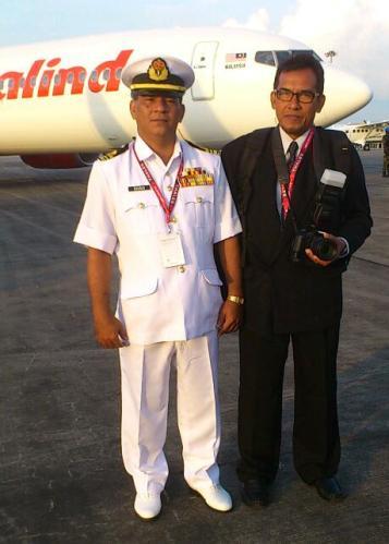 Lt Kdr Sharudin-Peg Pancaragam Pusat TLDM