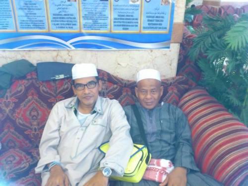 Haji Yusuf (skot 146) di hotel land premium mekah