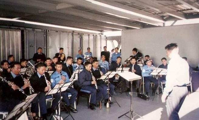 PGM Pusat - latihan semasa pelayaran KD SIS