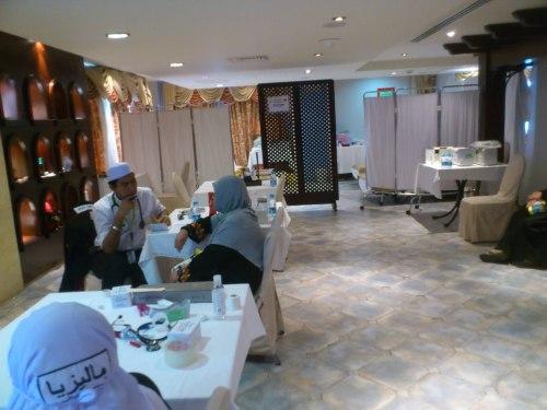 Klinik untuk para jemaah di Madinah.