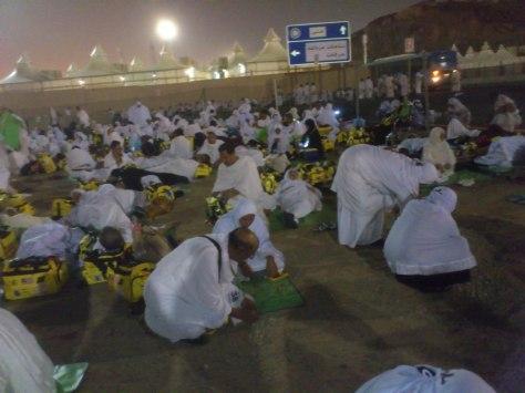 Bermabit di Mudzalifah di sepertiga malam