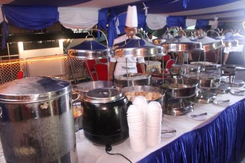 hidangan chef TLDM ala hotel 5 bintang