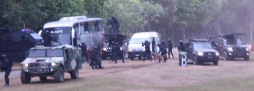 Aksi menyelamat tebusan oleh Pasukan Khusus ATM dan PDRM