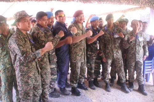 Menteri Pertahanan sentiasa memberi komitmen terbaik kepada pasukan keselamatan