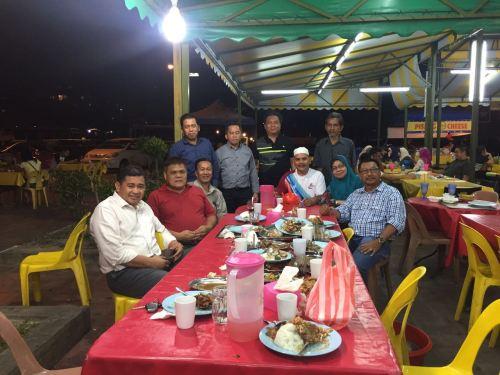 Hj Hasan dan W. Kamal menjejak kasih rakan-rakan di Sabah