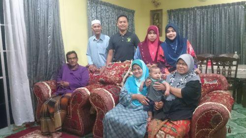 Paksu Non dan famili dr Aloqstaq