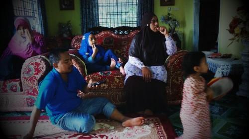 Azan & famili di raya ke4