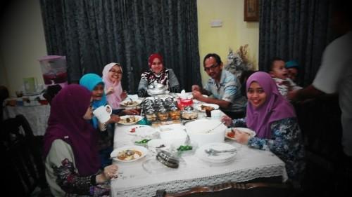 Abg shukri & famili dari Shah Alam